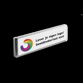 Informatiebord kokerprofiel reflecterend + uw eigen opdruk verwijsbord, aanwijsbord,