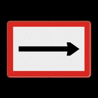 Scheepvaartbord BPR B. 1