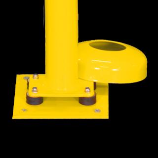 Afzet-, rampaal (SH1) - Bodemmontage (Verzinkt en gecoat staal)