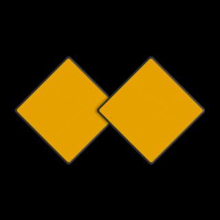 Scheepvaartbord (set 2 stuks) BPR D.01b