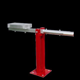 Slagboom (SH1) - RAL3020 -afsluitbaar - met contragewicht