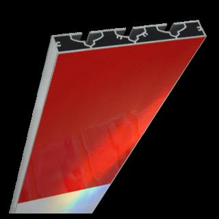 Schrikhekplank 1500mm lang VERZWAARD blokmotief