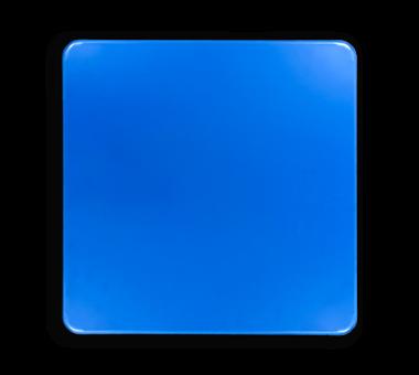 Basisbord omgezette rand - type 1:1 - vierkant