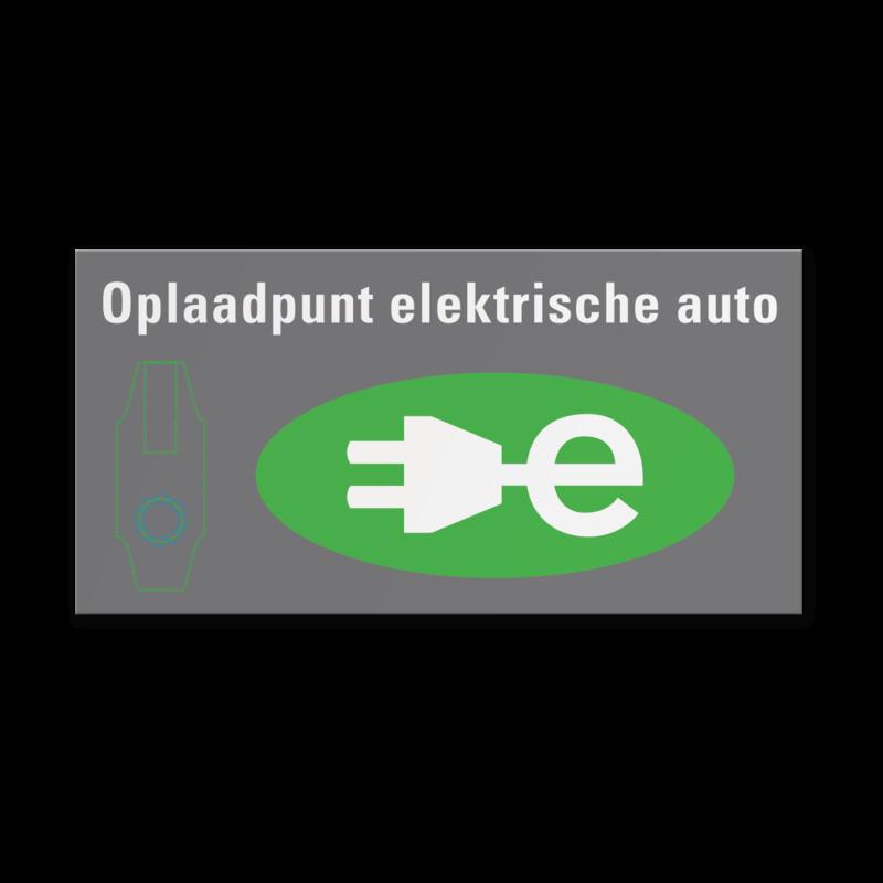 Informatiebord Opladen Elektrische Auto Be05 Elektrische