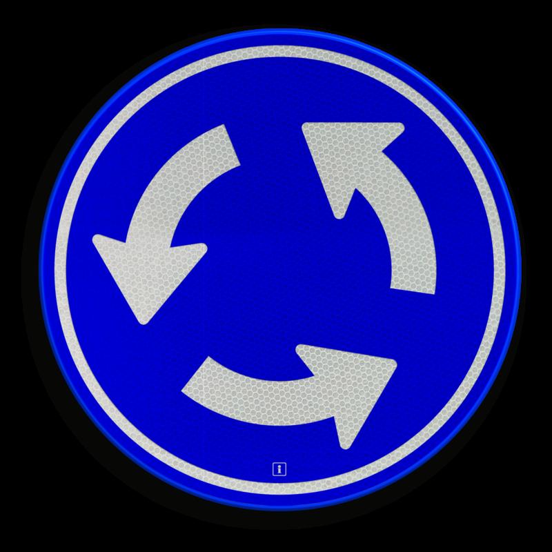 Afbeeldingsresultaat voor rotonde bord