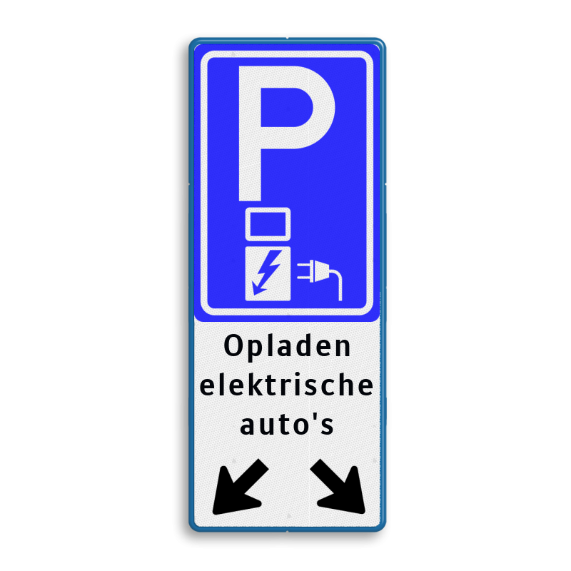 Verkeersbord Parkeren Elektrische Auto S Pijlen Be04e