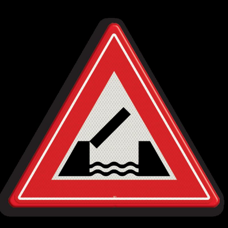 Verkeersbord J15 - Vooraanduiding beweegbare brug ...