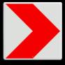 Verkeersbord BB12r -