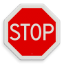 Verkeersbord B07 - Stoppen voor voorrangsweg