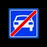 Verkeersbord G04 - Einde autoweg