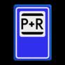 Verkeersbord E12 - Park & Ride
