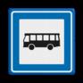 Verkeersbord L03b - Bushalte