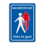 Verkeersbord L51 - Fietsstraat