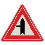 Verkeersbord B04 - Voorrangskruispunt weg van links