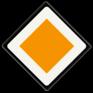 Verkeersbord B01 - Voorrangsweg