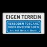 Verkeersbord BT03 -