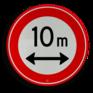 Verkeersbord C17 - Gesloten voor te lange voertuigen