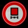 Verkeersbord C22 - Gesloten voor voertuigen gevaarlijke stoffen
