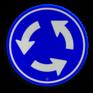 Verkeersbord D01 - Rotonde