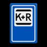 Verkeersbord E12 - Kiss & Ride