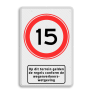 Verkeersbord BT13 -