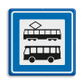 Verkeersbord L03a - Tramhalte/bushalte