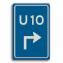 Verkeersbord BW501 -