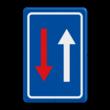 Verkeersbord België B21 - Smalle doorgang