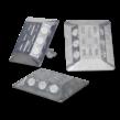 Markeernagel aluminium  115x100x20mm wit/wit