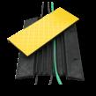 Kabelbrug met deksel - 800x600x60mm - 5 kanalen 35x35mm