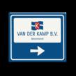 Bewegwijzering 1180x1000 VAN DER KAMP