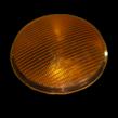 Lens polycarbonaat verkeerslicht (VKL) geel/oranje