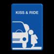 Informatiebord kiss & ride FC eigen ontwerp