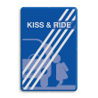 Informatiebord kiss&ride-einde FC eigen ontwerp - 90 graden