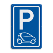 Parkeerbord type E08 automerk - SMART