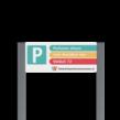 Parkeerplaatsbord unit + Parkeren eigen ontwerp