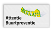Verkeersbord OV0495 Attentie Buurtpreventie - 02
