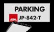 Parkeerplaatsbord VERZWAARD PROFIEL + Parkeren eigen ontwerp