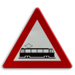 Verkeersbord België A49 - Kruising van sporen