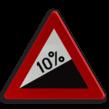 Verkeersbord België A05 - Steile helling