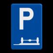 Verkeersbord België E09e - Parkeren uitsluitend voor autocars.