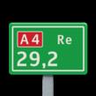 Hectometerbord BM07b [ Re ]