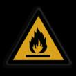 Veiligheidspictogram - Brandgevaarlijke stoffen - W021