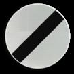 Verkeersbord België C46 - Einde van alle plaatselijke verbodsbepalingen opgelegd aan de voertuigen in beweging.