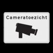 Verkeersbord Cameratoezicht basic