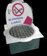 Dunk-IT afvalbak in stoeptegel