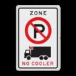 Verkeersbord RVV E201 cooler