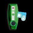 EVBOX Businessline 230V SMART met laadpas-systeem
