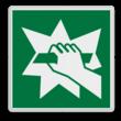 Veiligheidspictogram - Breken om toegang te verkrijgen - E008