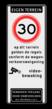 Verkeersbord 400x1000mm et-A01-odt_video_art461